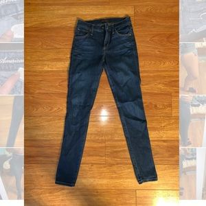 James Jeans High Waisted Skinny Jeans